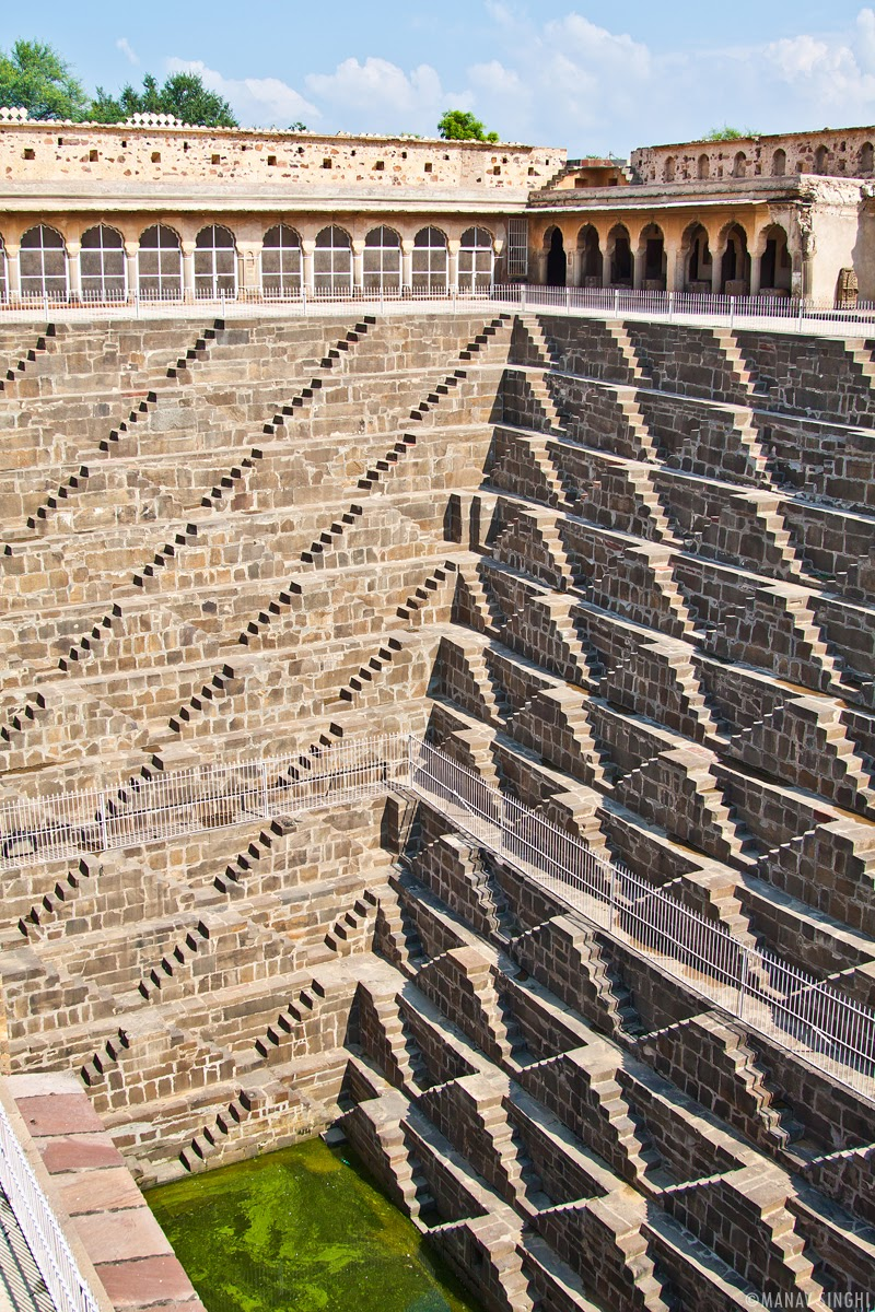 Chand Baori' step well