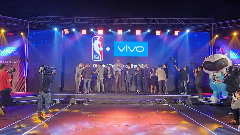 Vivo announces multiyear partnership with NBA in the Philippines