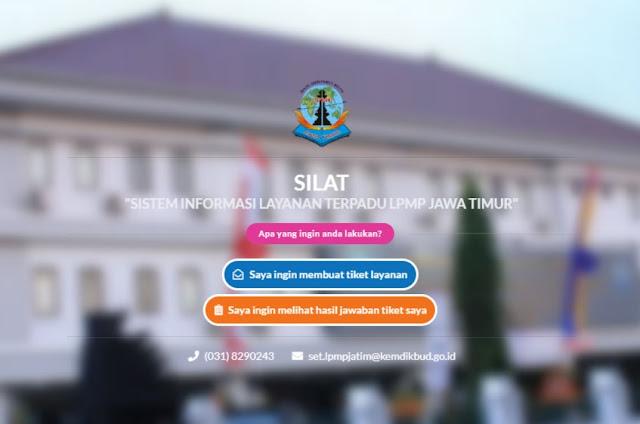 Cara Membuat Tiket Layanan Sistem Informasi Layanan Terpadu  SD:  Cara Membuat Tiket Layanan Sistem Informasi Layanan Terpadu (SILAT) LPMP Jawa Timur