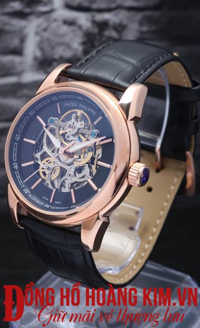 Đồng hồ nam dây da cao cấp với vẻ đẹp hút ánh nhìn