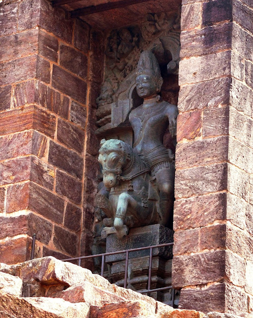 The Mid-day Sun (Madhyanha Surya) on the western wall of the vimana at Konarak Sun Temple