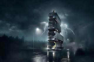 Di Balik Layar Film The Truck Tower Saat Peluncuran Truck Terbaru Volvo FH, Volvo FH16, Volvo FM dan Volvo FMX