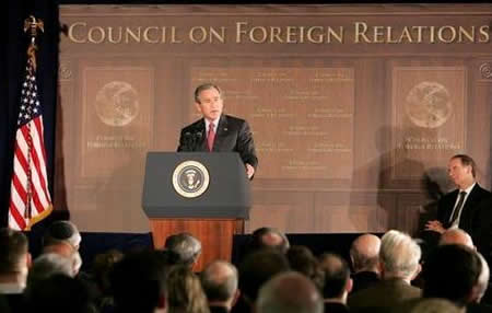 is an influential organization devoted to the report of unusual policy Council on Foreign Relations