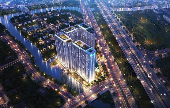 PHối cảnh đêm căn hộ Jamila Khang Điền