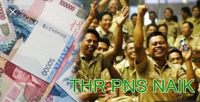 THR dan Gaji Ke 13 PNS Dan Pensiun Segera Cair , THR 2018 Lebih ...