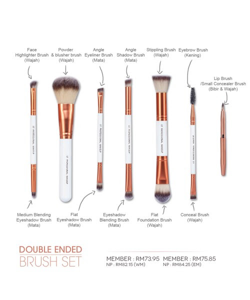 Double Ended Brush Set Sendayu Tinggi