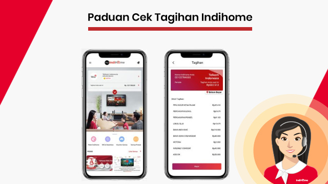 Cek Tagihan Bulanan Wifi Indihome / Speedy