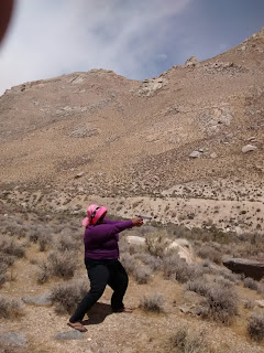 shooting stance, desert trip