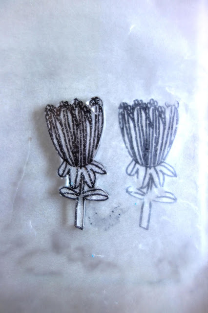Shrinky Dinks tutorial, crafting with Shrinky Dinks, blah to TADA, handmade pins, DIY pins, Sharpie crafts, shrinking plastic crafts, toaster crafts, acrylic paint, bar pins, flowers