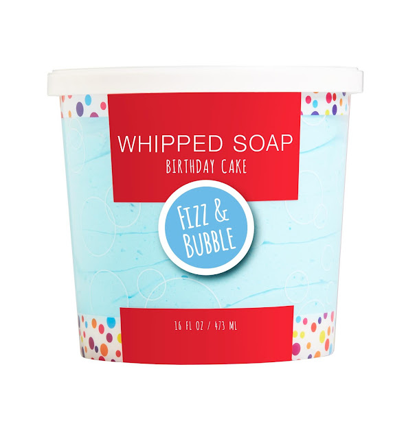 Fizz and Bubble Whipped Soap