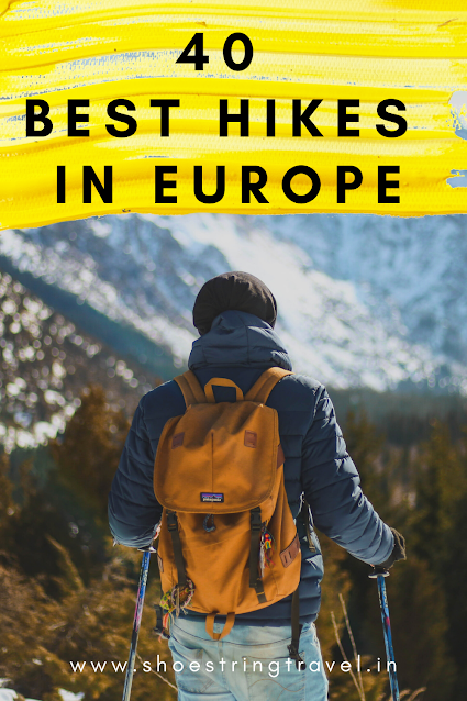 40 Best Hikes in Europe #Europe #Hike #BestHikes