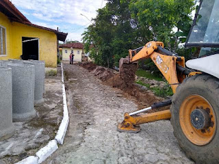 Prefeitura de Cananéia dá início às obras de Canalização no bairro Acaraú