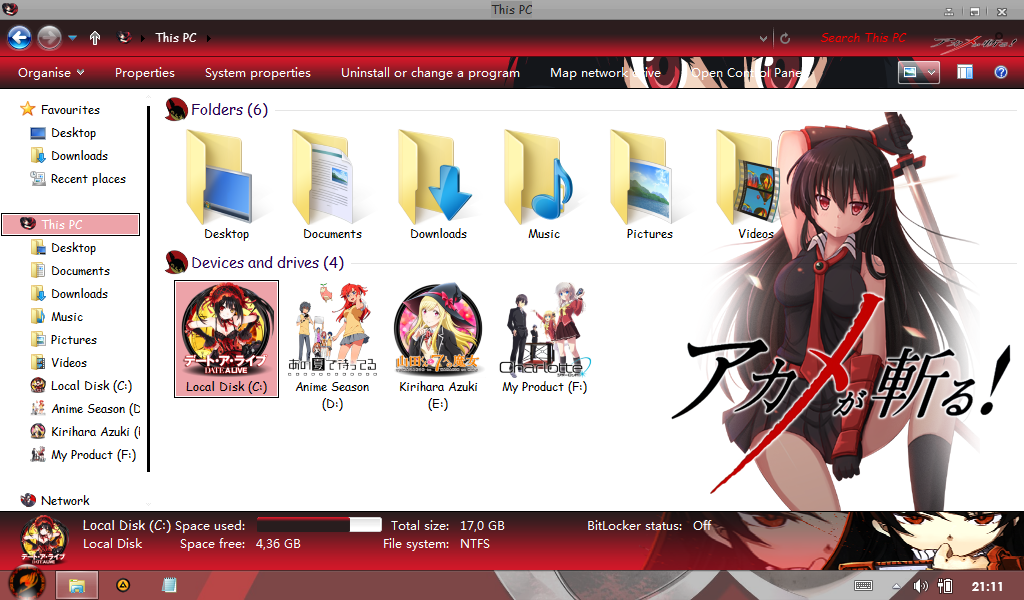 Akame [Akame ga Kill] for Win 8/8.1 3