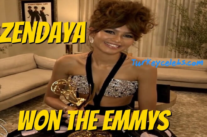 Zendaya won the emmys for outstanding lead actress