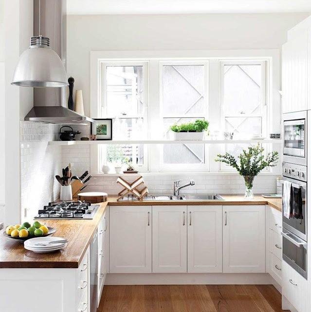 Desain Dapur Sederhana Tapi Mewah Terbaru