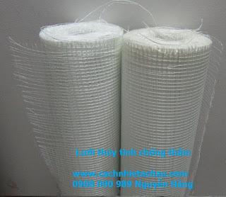 Đặc điểm và ứng dụng của lưới sợi thủy tinh chống thấm, chống nứt trong xây dựng