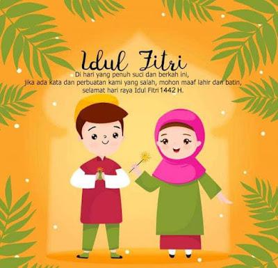 Ucapan Untuk Idul Fitri 2021 1442 Terbaru & Keren -ucapan hari raya idul fitri