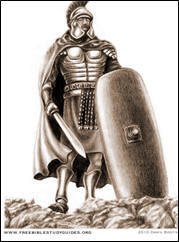 the breast plate of righteousness and armor of holiness