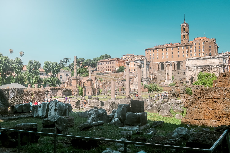 Roman Forum Italy, Contiki Europe,