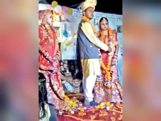 बीवी की मौजूदगी में पति ने रचाई साली से शादी, जाने कैसे राज़ी हुई उसकी पत्नी