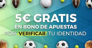 Paston Verifica tu identidad Bono Apuestas 5€ hasta 31 de diciembre