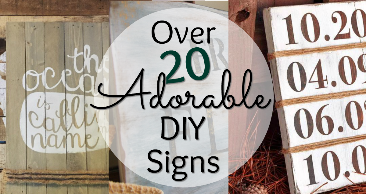 diy wood signs