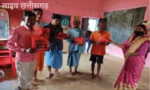 तुहामेटा में पोषण बाड़ी योजना का लाभ सैकड़ों किसानों को प्राप्त poshan badi youana tuhameta
