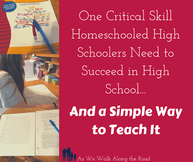 Homeschool writing curriculum for high school