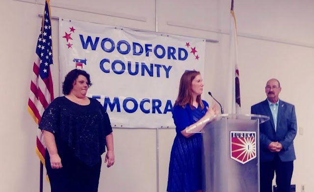 County Board Candidates Attend Woodford Democrats Founders Dinner, Metamora Herald