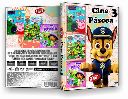 CAPA DVD – Cine Pascoa 3 Em 1 Vol.3 – ISO