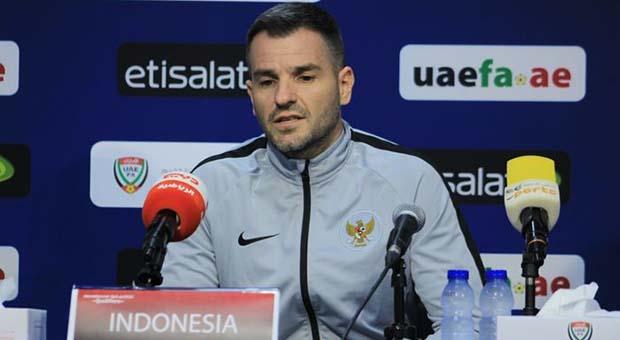 Kalah 0-5 dari Uni Emirat Arab, Begini Dalih Pelatih Timnas Indonesia