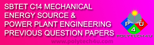 DIPLOMA ENERGY SOURCES AND POWER PLANT ENGINEERING QUESTION PAPERS - POLYTECH4UDIPLOMA ENERGY SOURCES AND POWER PLANT ENGINEERING QUESTION PAPERS - POLYTECH4U