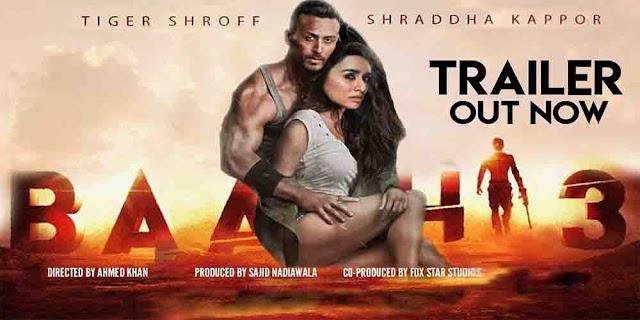 Tiger Shroff or shraddha kapoor ki baaghi 3 ka poster hua release