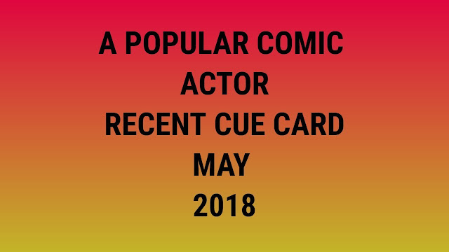 a comic actor who is popular in your country cue card - Ielts speak