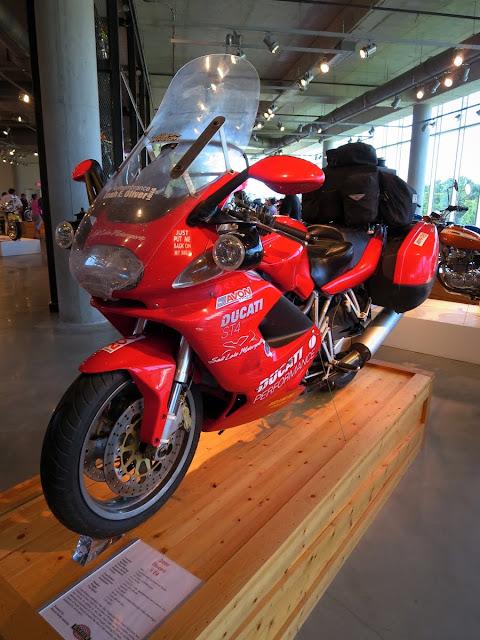 Gary Egan's Ducati ST4 Motorcycle Barber Museum