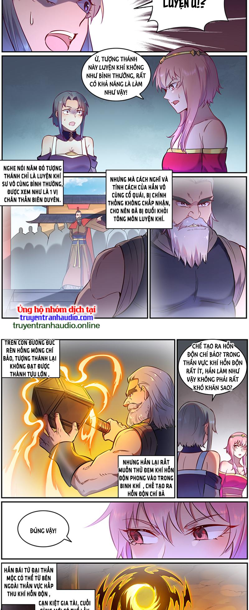 Bách Luyện Thành Thần Chương 758 - truyenmh.com
