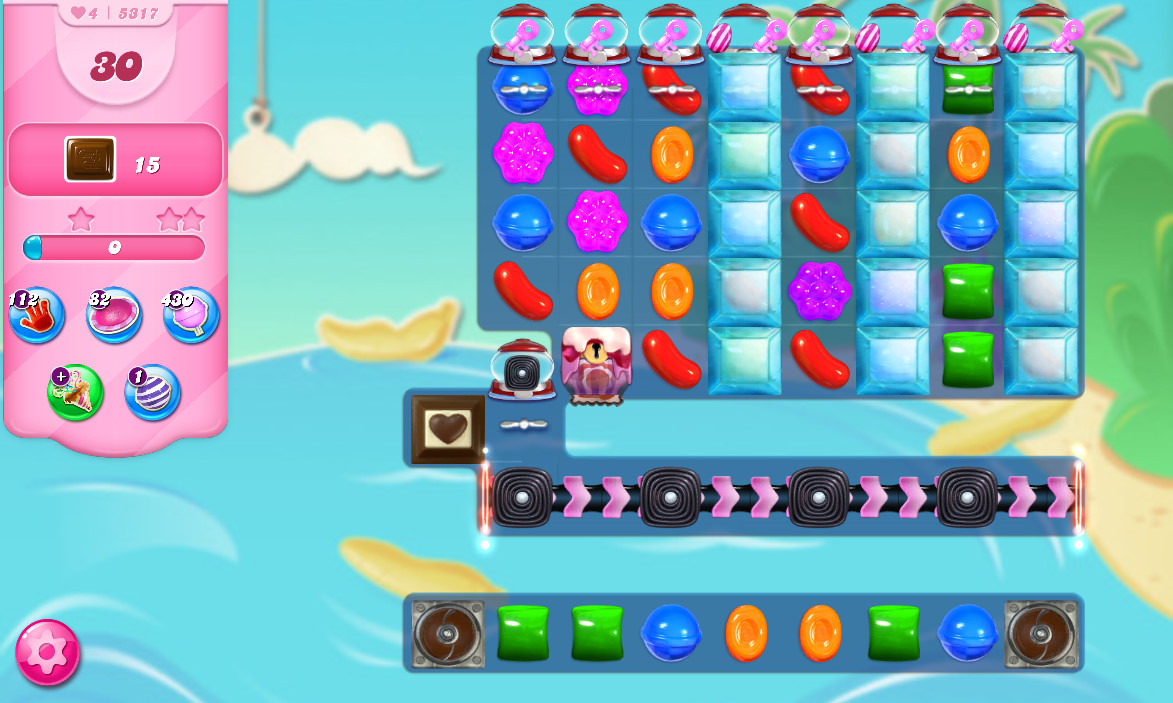 Candy Crush Saga level 5317