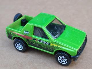2013 Matchbox ISUZU AMIGO 102/120 MBX Explorers LOOSE Green