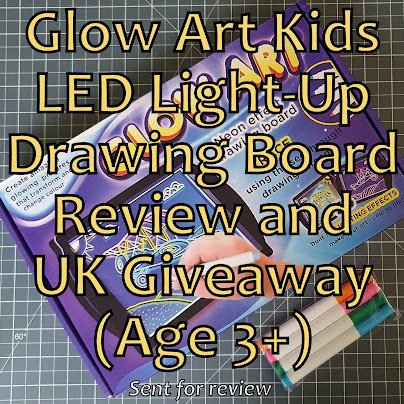 Glow Art Drawing Board in box