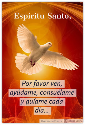 Oraciones Cortas al Espíritu Santo