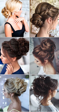Paying attention to hairstyle: