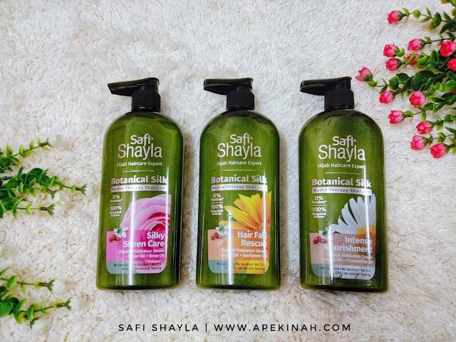 Syampu Safi, syampu safi shayla, safi shayla, syampu safi shayla botanical silk, safi botanical silk, syampu safi botol hijau