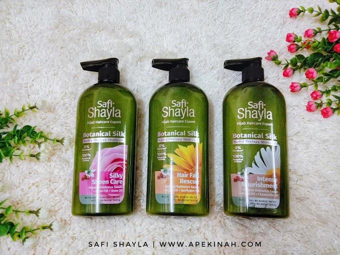 Safi Shayla Botanical Silk Rangkaian Syampu Khusus Buat Wanita Berhijab