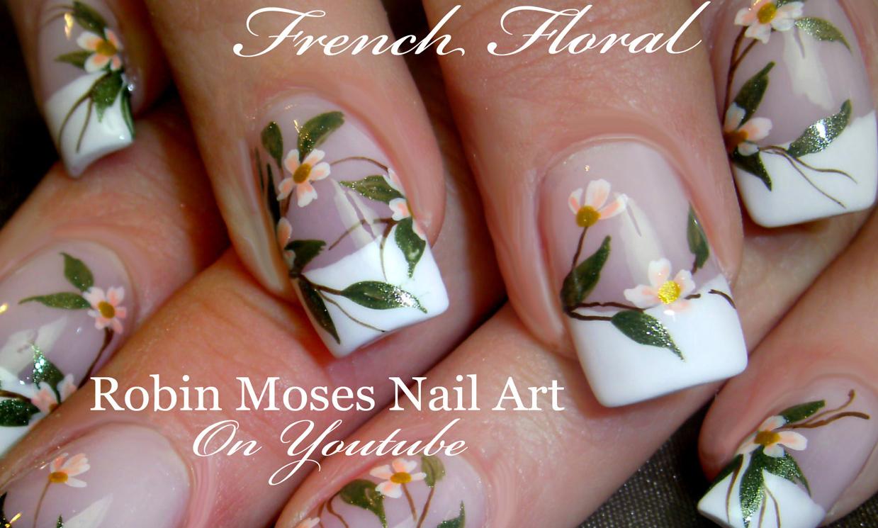 Cropwhiteflowerfrenchfloralweddingsoftflowersg robin moses blog httprobinmosesnailartspot wedding nail art prinsesfo Gallery