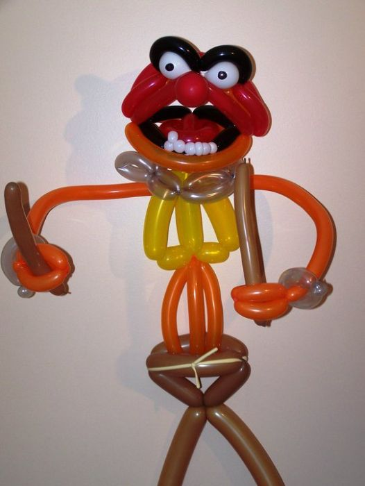 Cool crafts out of balloons: 16