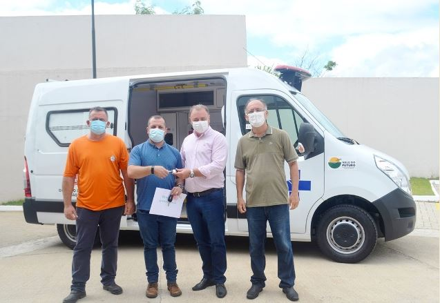Município de Registro-SP conquista nova ambulância
