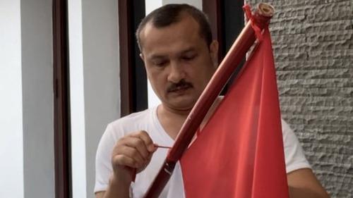 Tantang Warga Pemasang Bendera Palestina, Ferdinand: Kita Perang Sampai Mati