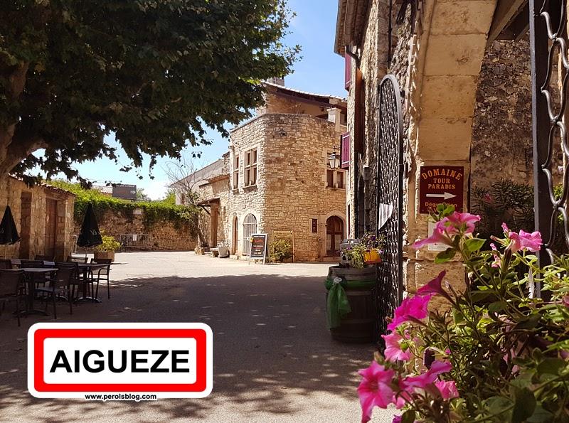 """Aiguèze """" Les plus beaux village de France """""""
