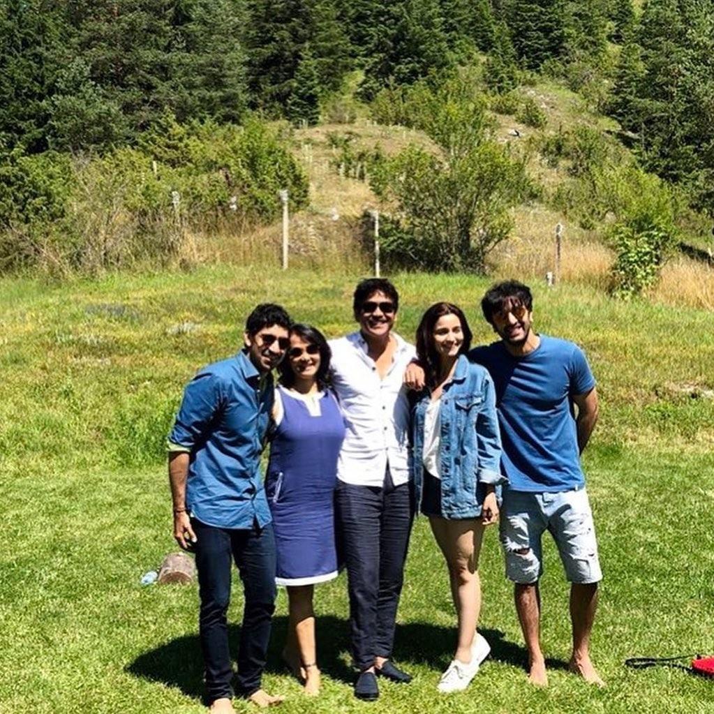 Movie Gossips: Ranbir Kapoor, Alia Bhatt Brahmastra team reunite in Mumbai for 10-day shoot, Mouni Roy shares pics