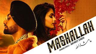 MASHALLAH LYRICS – Ravneet Singh